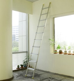 Crust Aluminium 10 Steps 11.6 Ft Straight Ladder