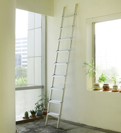 Crust Aluminium 9 Steps 10.6 Ft Straight Ladder