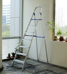 Crust Blue Aluminium 7 Steps 7.3 Ft Ladder