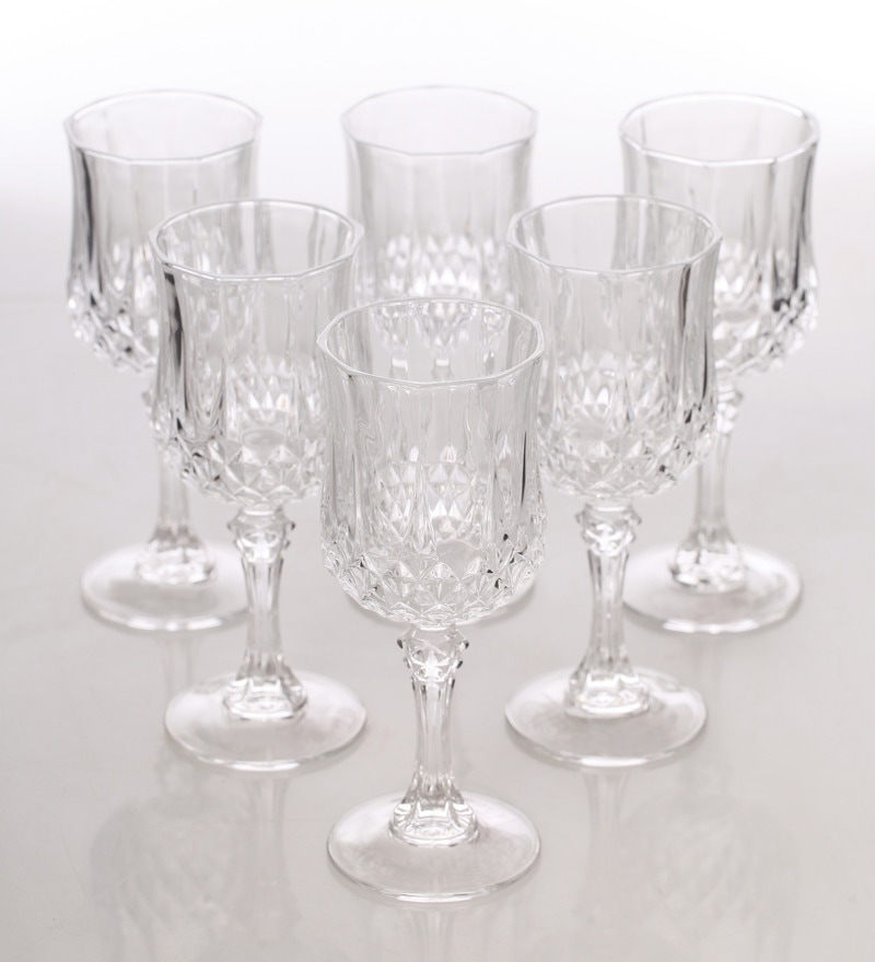 Cristal Darques Verres.Glass 170 Ml White Wine Glass Set Of 6 By Cristal D Arques
