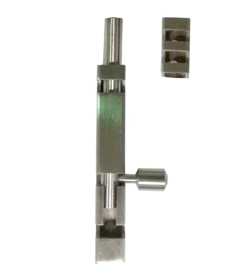 Crust Stainless Steel 10 Inch Tower Bolts - Set of 2