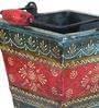 Dvij Vase in Multicolour by Mudramark