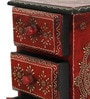 Abha Collectible with 3 Drawers in Multicolour by Mudramark