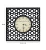 Clover Wall Clock in Multicolour by Bohemiana