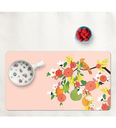 Cyahi Chirpin's Away Multicolour Laminated MDF Placemats - Set Of 6