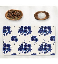 Cyahi Royal Bloom Multicolour Laminated MDF Placemats - Set Of 6