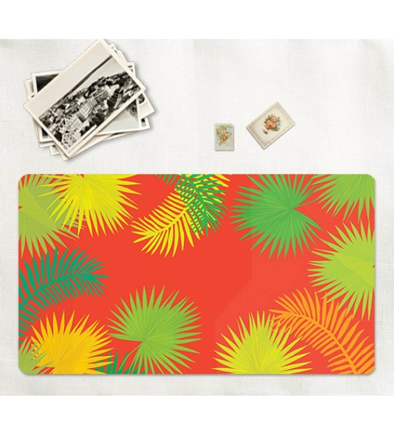 Cyahi Tropics Multicolour Laminated MDF Placemats - Set of 6