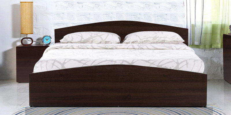 Daiki Queen Bed in Wenge Finish by Mintwud