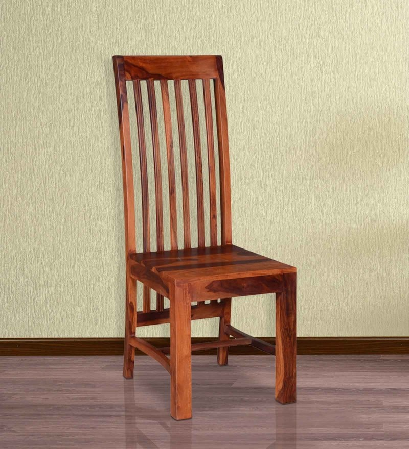Dalton Dining Chair in Honey Oak Finish by Woodsworth