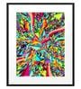 DailyObjects Paper Candy Explosion Framed Art Print