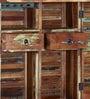 Dave Bar Cabinet in Distress Finish by Bohemiana