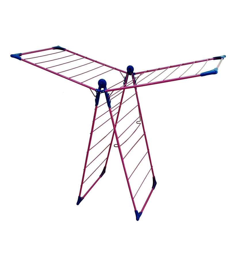 Deneb Premium Vega Steel Red X-Wing Cloth Drying Stand
