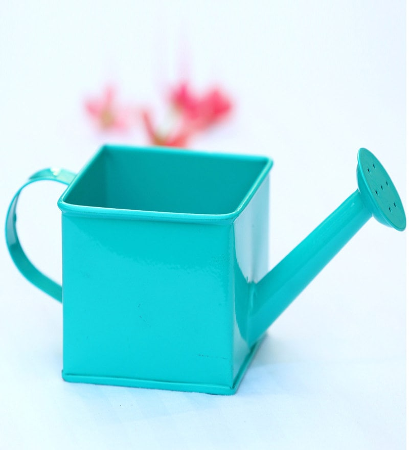Deziworkz Square Watering Can Turquoise