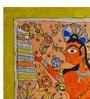 Handmade Paper 11.3 x 15.3 Inch Jai Bajrang Bali Painting by De Kulture Works