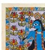 Handmade Paper 11.3 x 15.3 Inch The Fierce Kali Painting by De Kulture Works