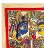 Handmade Paper 11 x 15 Inch Sita Ram Wedding Painting by De Kulture Works