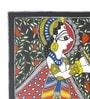 Handmade Paper 15 x 11 Inch Radha Krishna Panghat Painting by De Kulture Works