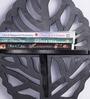 Decorhand Black Wood & MDF Wall Shelves - Set of 2
