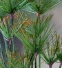 Green Polyester Umbrella Palm Assorted Faux Flower - Set of 2 by Deziworkz