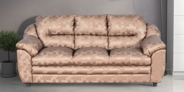 Dilly Three Seater Sofa In Golden Colour By Cloud 9