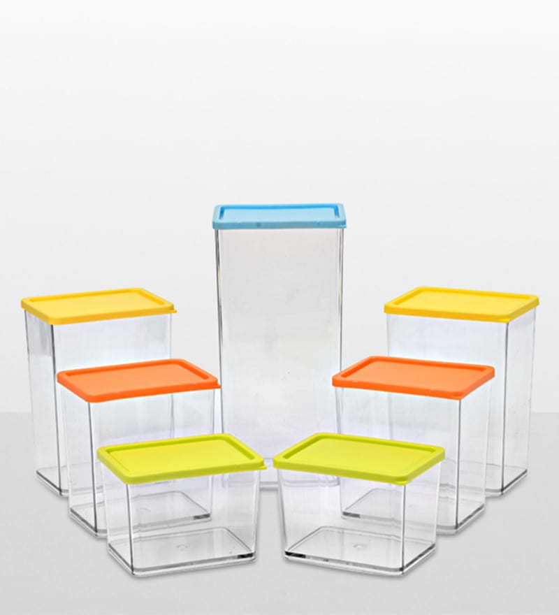 Disha Multicolour Storage Container - Set of 7