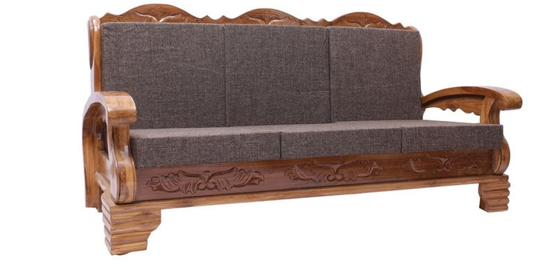 Teak Wood Sofa ~ Teak wood sofa set thesofa
