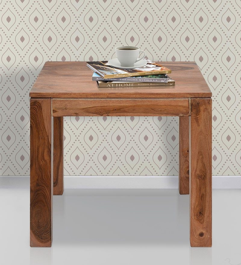 Dortmund End Table in Natural Finish by @ Home
