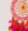 Pink & Orange Wool Dream Catcher by Rooh Dream