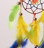 Circus Car Multicolor Wool 14 x 1 x 19 Inch Dream Catcher by Rooh Dream