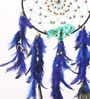 Royal Peacock Multicolor Wool 25 x 1 x 40 Inch Dream Catcher by Rooh Dream