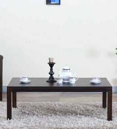 Duvall Large  Coffee Table In Warm Chestnut Finish