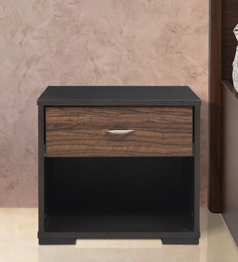 Duke Side Table in Wenge Finish by Crystal Furnitech