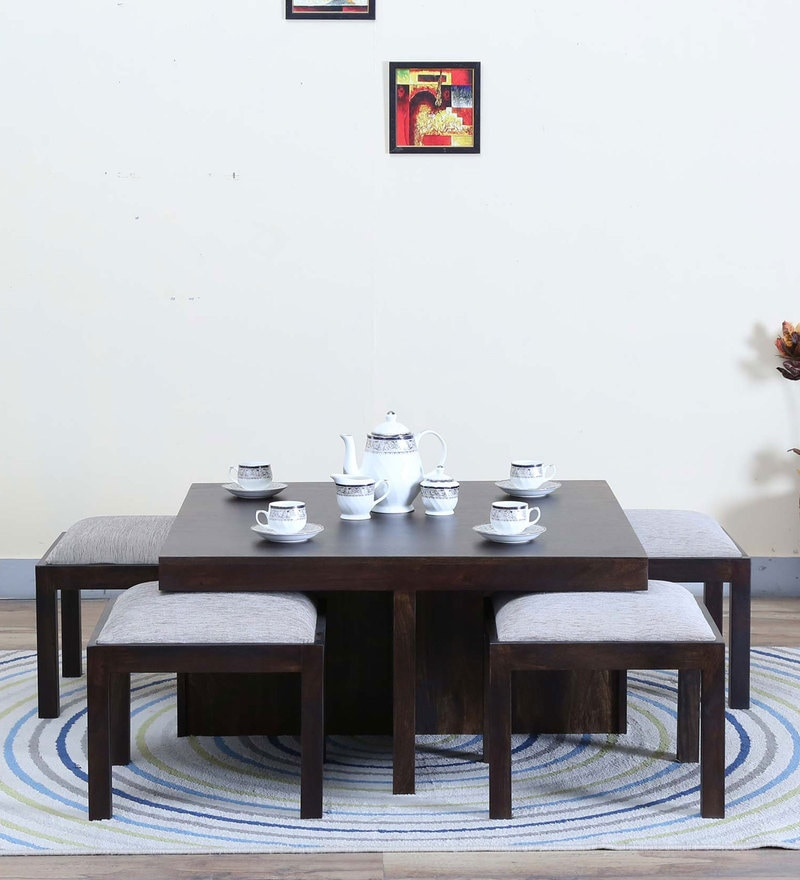 Duvall Coffee Table Set in Warm Chestnut Finish by Woodsworth