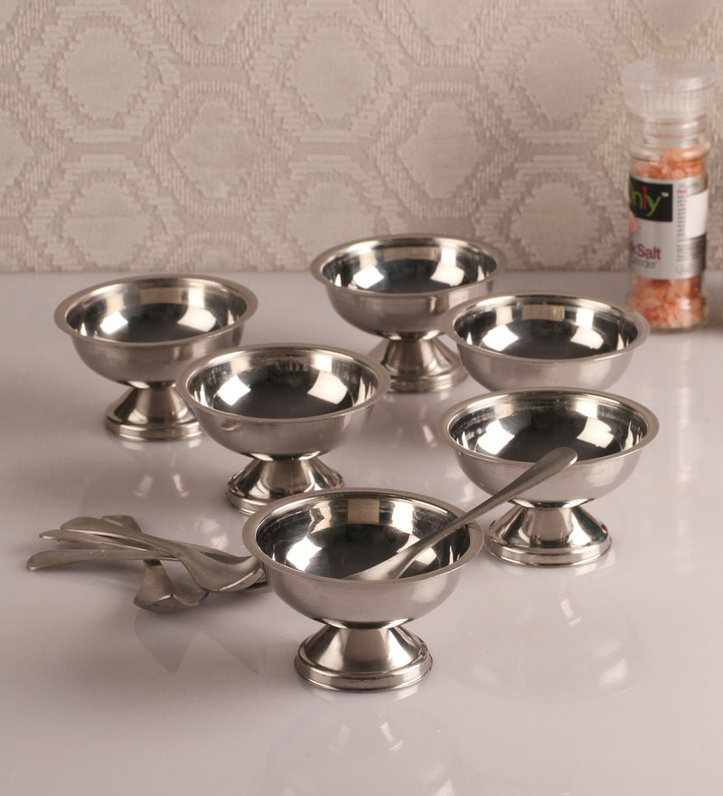 Dynore Stainless Steel Ice Cream Cups