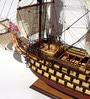 Multicolour Solid Wood Treh Hierarchov Ship Collectible by E-Studio
