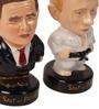 E-Studio Multicolour Wooden Bush & Putin Figurines Showpiece