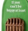 Earth Multicolour Polyresin If You Can't Be Happy Bottle Quote Wall Hanging