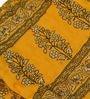 eCraftIndia Black Cotton Ethnic Single Quilt - Set of 1