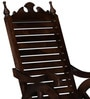 Harold Solid Wood Rocking Chair in Provincial Teak Finish by Amberville