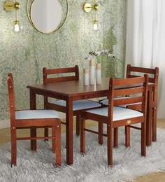 97d65fc953e Four Seater Dining Sets - Buy Four Seater Dining Sets Online in ...