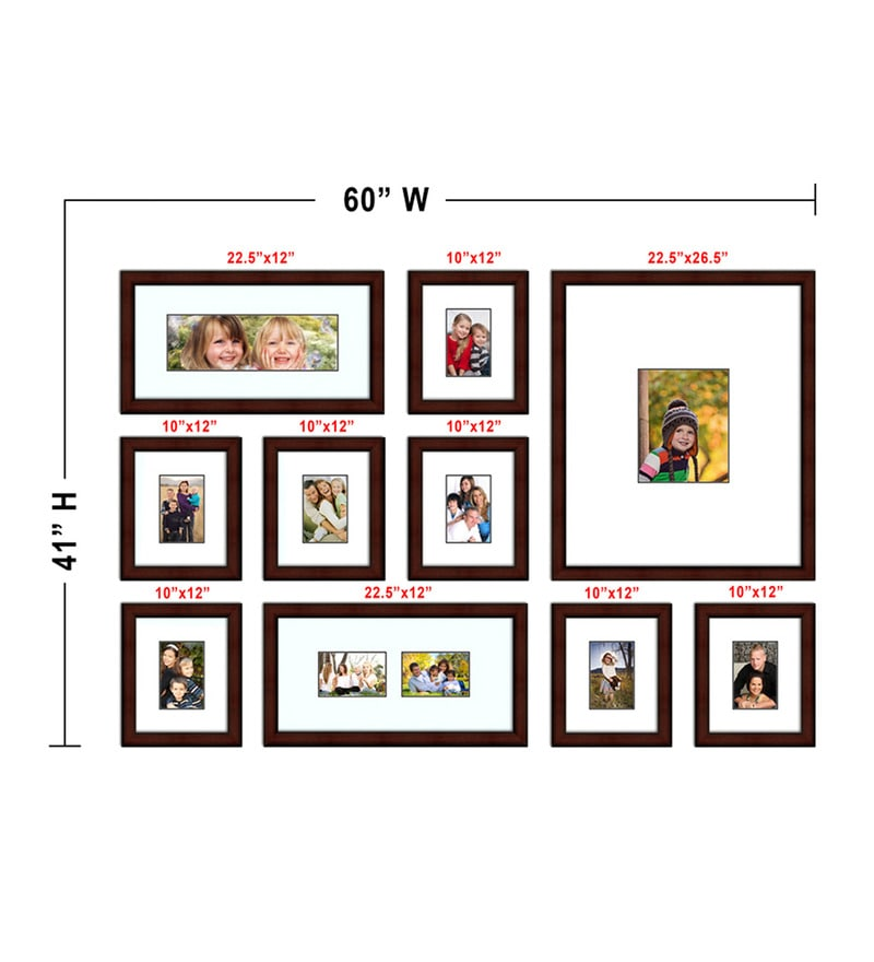 Buy Elegant Arts and Frames Red Synthetic Wood Approx. 40 x 60 Inch ...