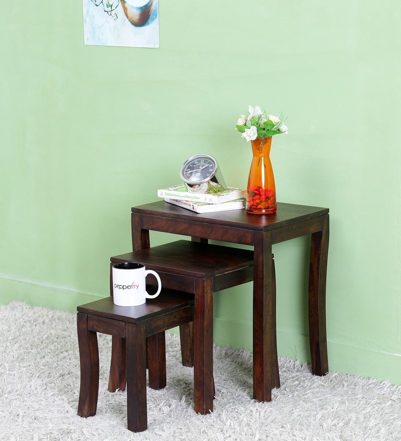 Elroy Set of Tables in Warm Chestnut  Finish by Woodsworth