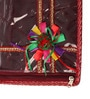 Elegant Plastic Red Saree Bag - Set of 3