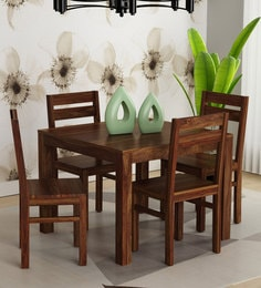 8 seater dining table set modern enkel solid wood four seater dining set in provincial teak finish room furniture buy wooden online at