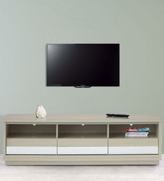 Entertainment Unit In Light Oak Finish By Marco