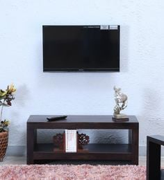 Acropolis Entertainment Unit In Warm Chestnut Finish - 1598700