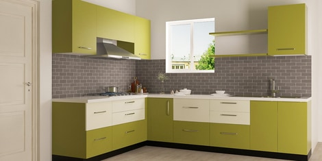 L Shaped Modular Kitchen Buy L Shaped Kitchen Design Online In India Best Price Pepperfry,Modern Low Budget Limited Space Bathroom Designs For Small Spaces