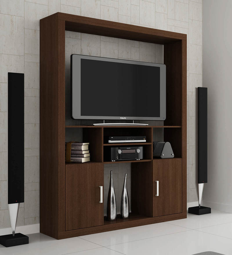 Enraku Entertainment Unit in Tobacco Finish by Mintwud