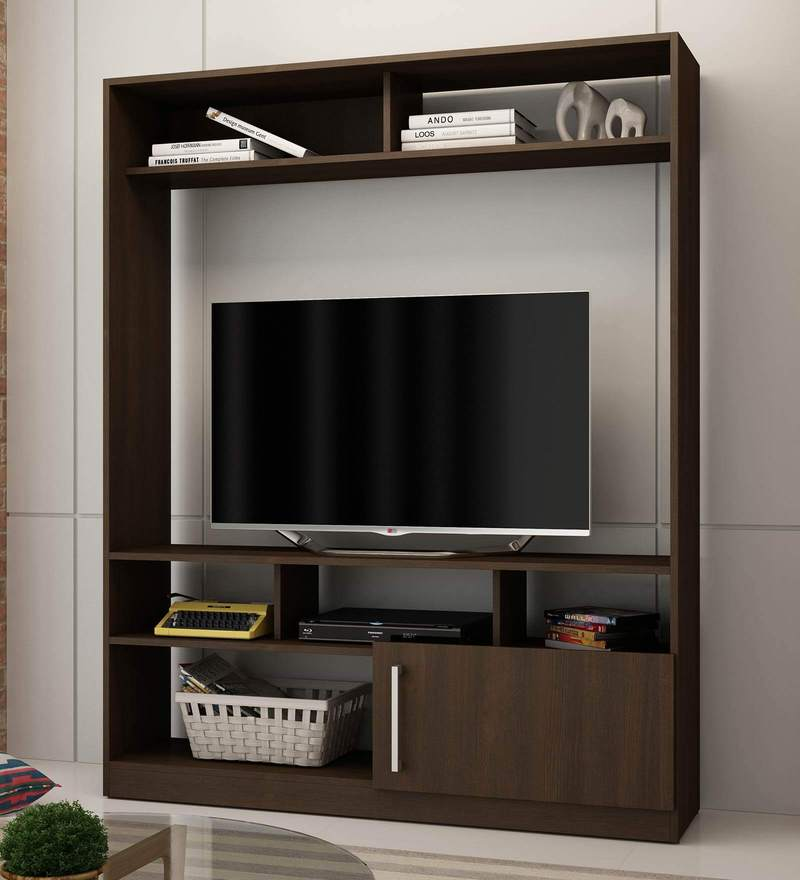 Aki Entertainment Unit in Tobacco Finish by Mintwud
