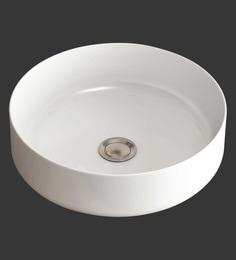 Eros Table Top White Ceramic Wash Basin (Model: Grassi-TT)